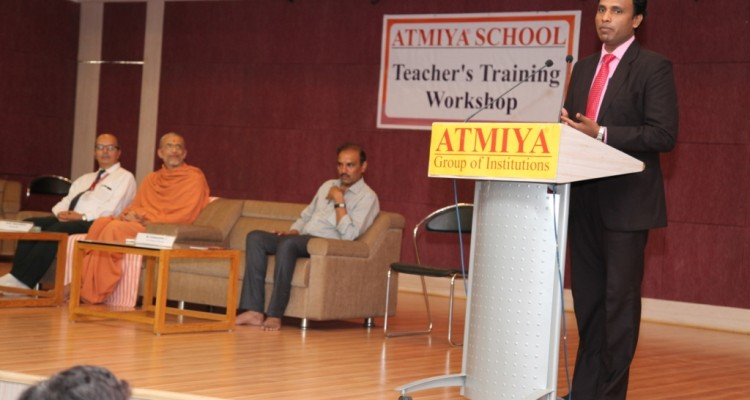 ACT Training at Atmiya  School, Yogidham, Rajkot.